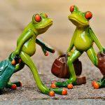 イソップ童話の「二匹のカエル」より